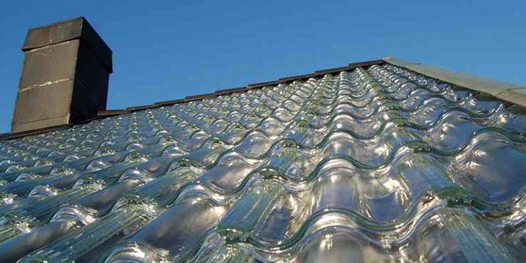 Atap genteng kaca