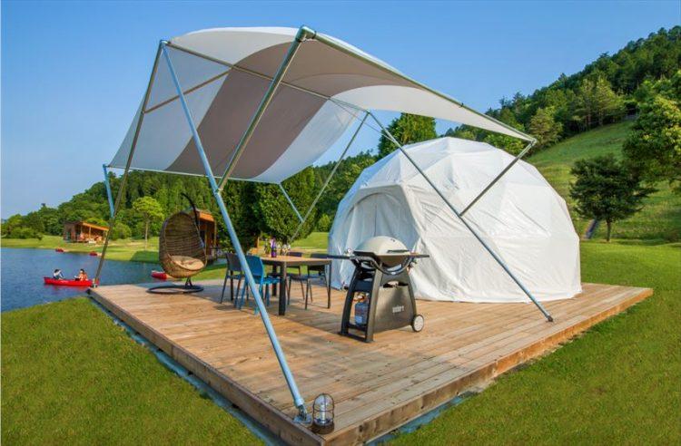 Glamping Tenda kabin