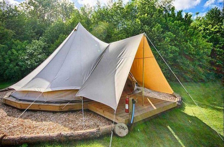 Tenda Glamping Bell tent