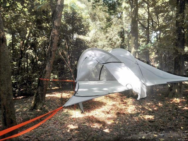 Tenda Glamping Hanging tree tent