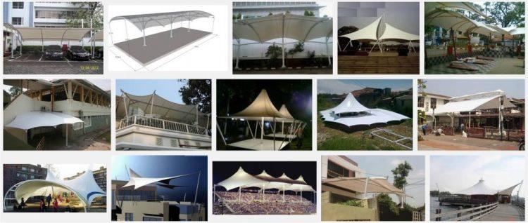 Beberapa Jenis Dan Model Tenda Membrane