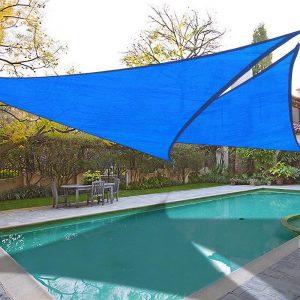 Atap layar kolam renang